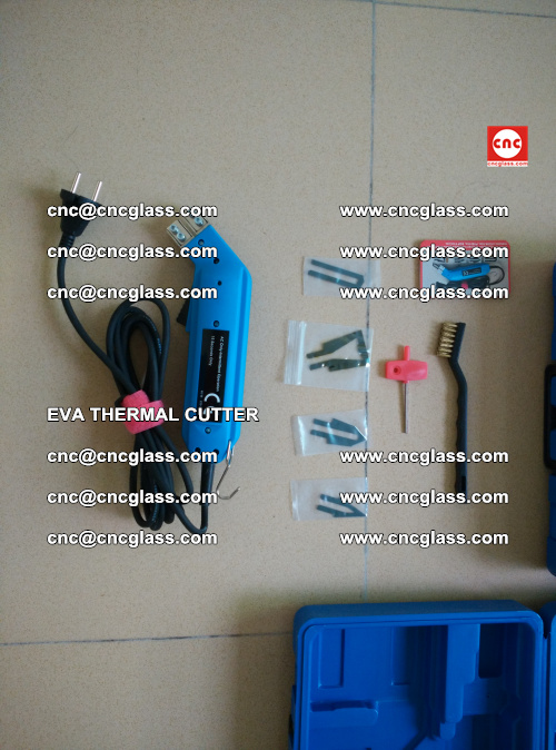 EVA THERMAL CUTTER, Cleaning EVA laminated glass edges (44)