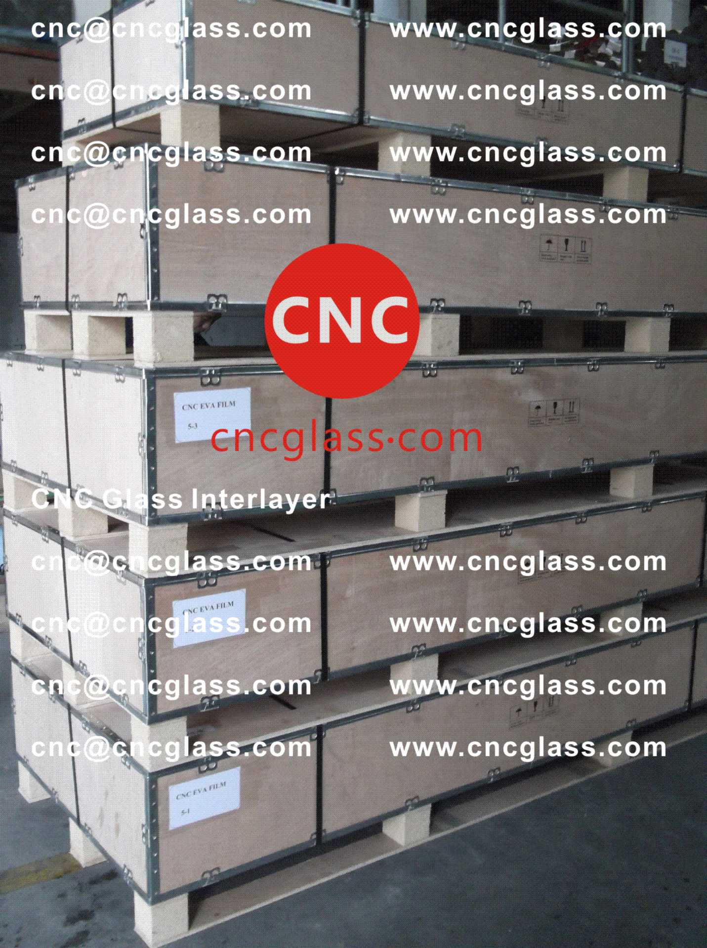 008 Package of EVA safety interlayer film for laminated glass