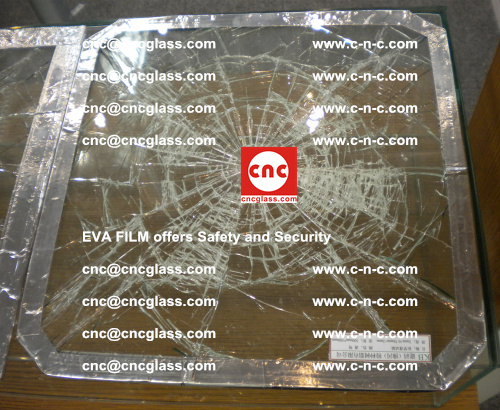 EVA Film Laminated Glass offers Safety and Security (2)