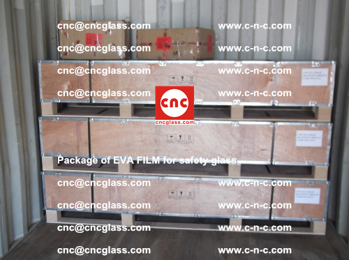Package of EVA Film for safety laminated glass (11)