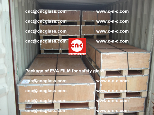 Package of EVA Film for safety laminated glass (15)