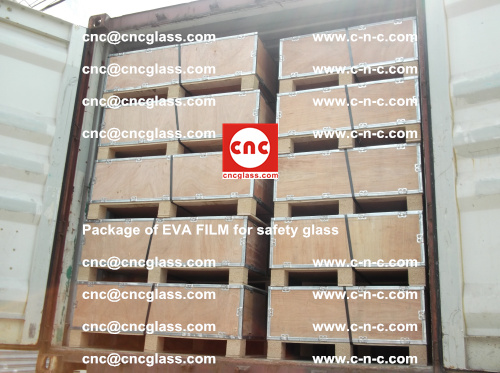 Package of EVA Film for safety laminated glass (16)