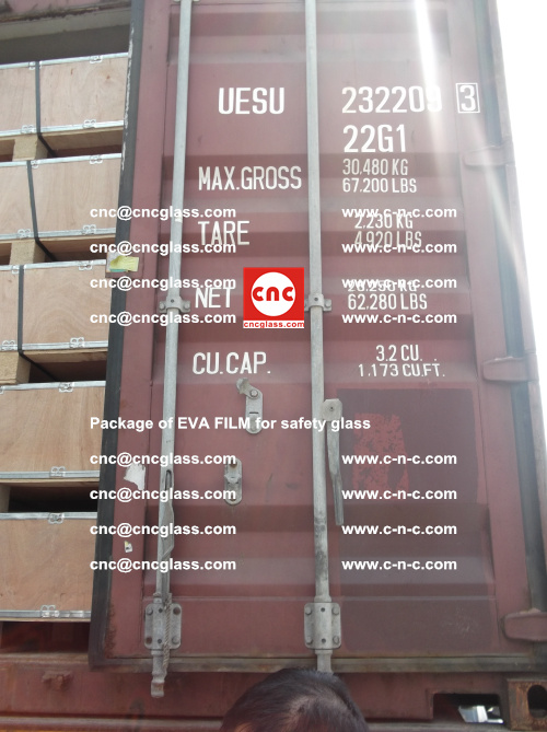 Package of EVA Film for safety laminated glass (17)
