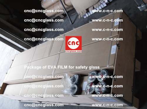 Package of EVA Film for safety laminated glass (19)
