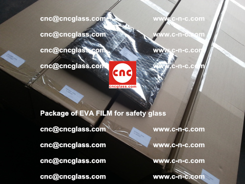 Package of EVA Film for safety laminated glass (2)
