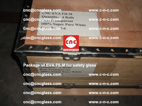 Package of EVA Film for safety laminated glass (22)