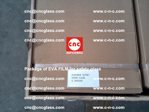 Package of EVA Film for safety laminated glass (24)