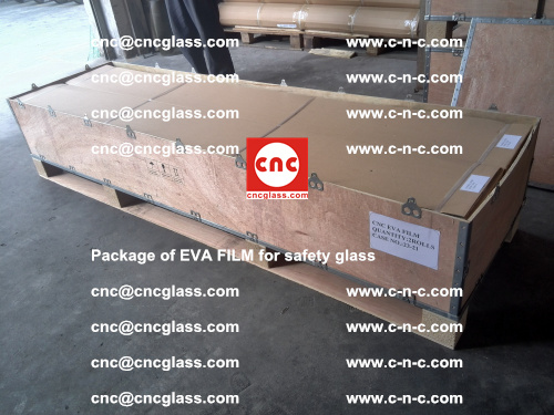Package of EVA Film for safety laminated glass (26)