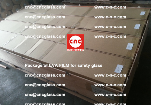 Package of EVA Film for safety laminated glass (3)