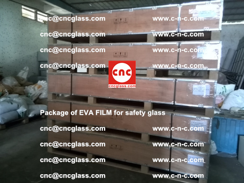 Package of EVA Film for safety laminated glass (34)