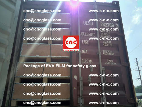 Package of EVA Film for safety laminated glass (36)