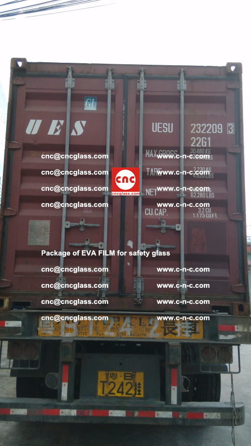 Package of EVA Film for safety laminated glass (38)