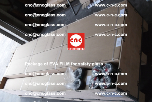 Package of EVA Film for safety laminated glass (39)