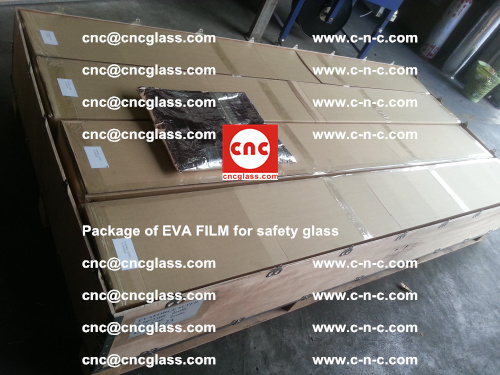 Package of EVA Film for safety laminated glass (4)
