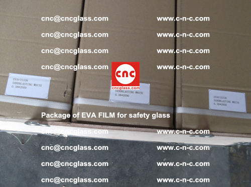Package of EVA Film for safety laminated glass (5)