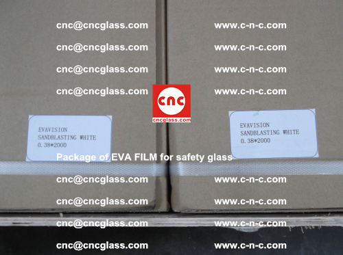 Package of EVA Film for safety laminated glass (6)