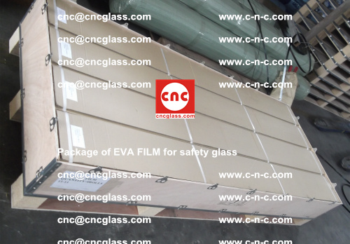 Package of EVA Film for safety laminated glass (7)