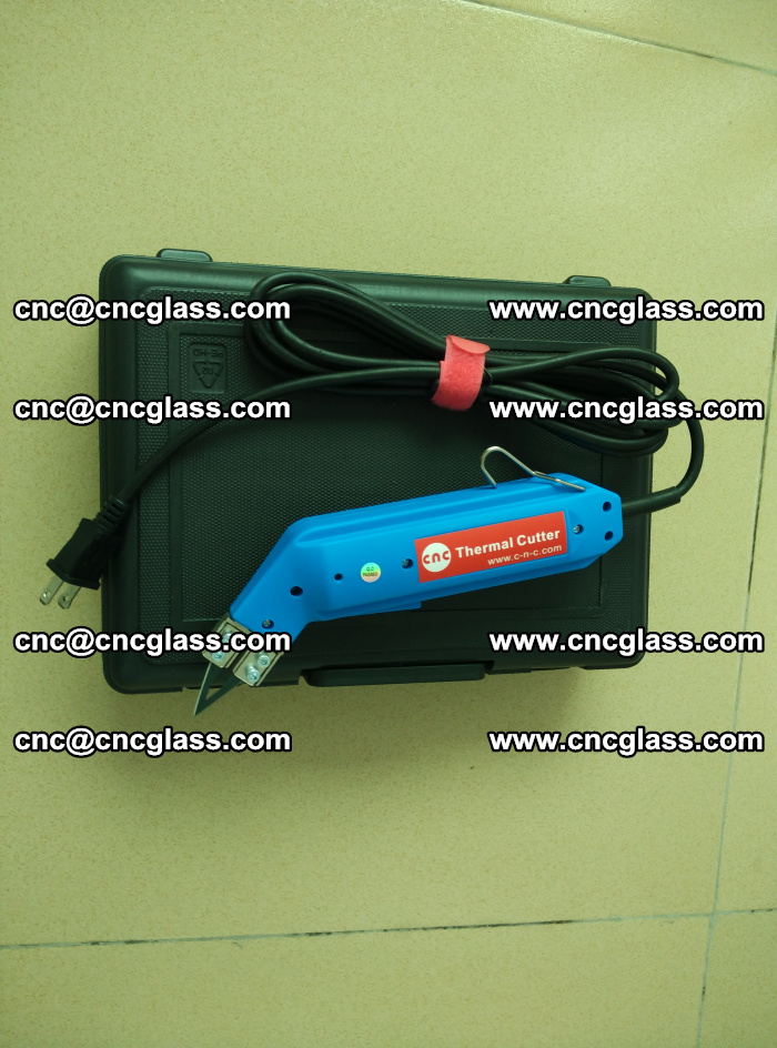 Thermal Knife trimmer for laminated glass edges cleaning (10)