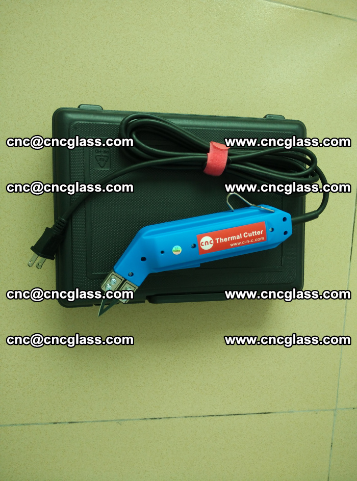 Thermal Knife trimmer for laminated glass edges cleaning (12)