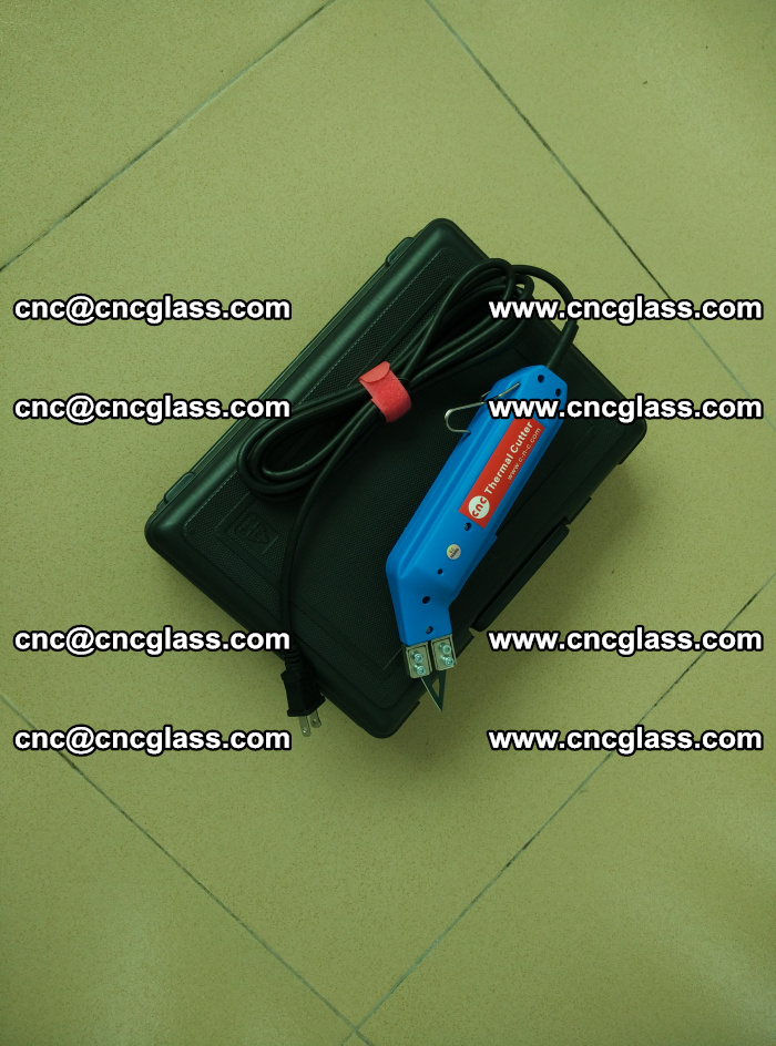 Thermal Knife trimmer for laminated glass edges cleaning (15)
