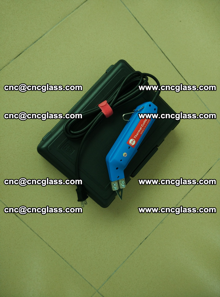 Thermal Knife trimmer for laminated glass edges cleaning (16)