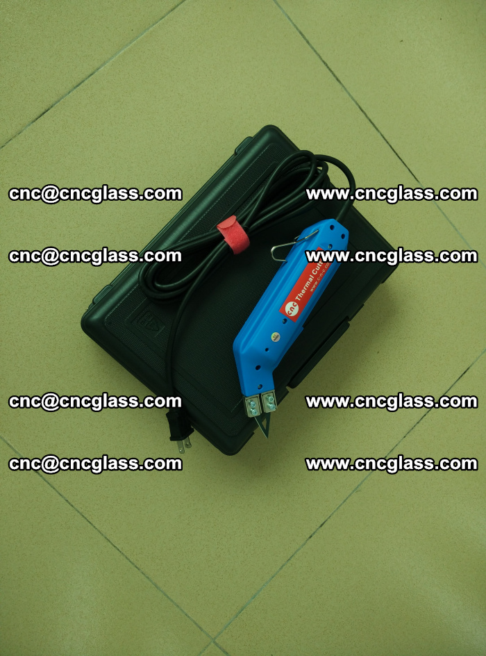 Thermal Knife trimmer for laminated glass edges cleaning (17)