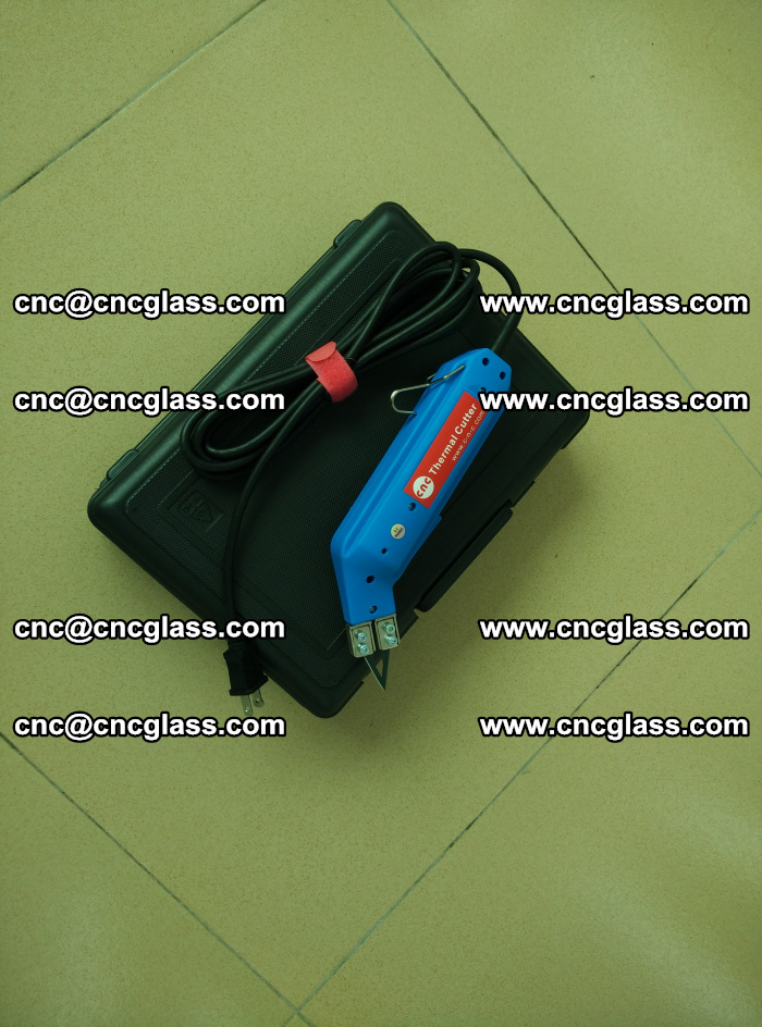 Thermal Knife trimmer for laminated glass edges cleaning (21)