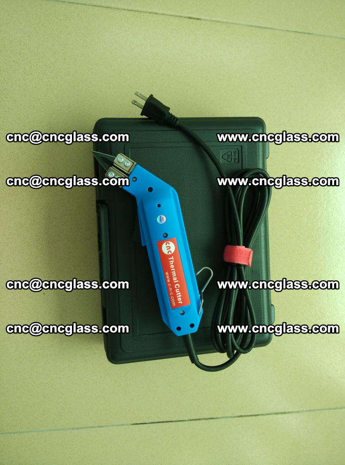 Thermal Knife trimmer for laminated glass edges cleaning (3)