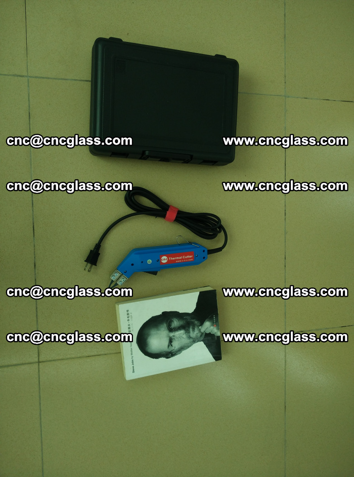 Thermal Knife trimmer for laminated glass edges cleaning (39)