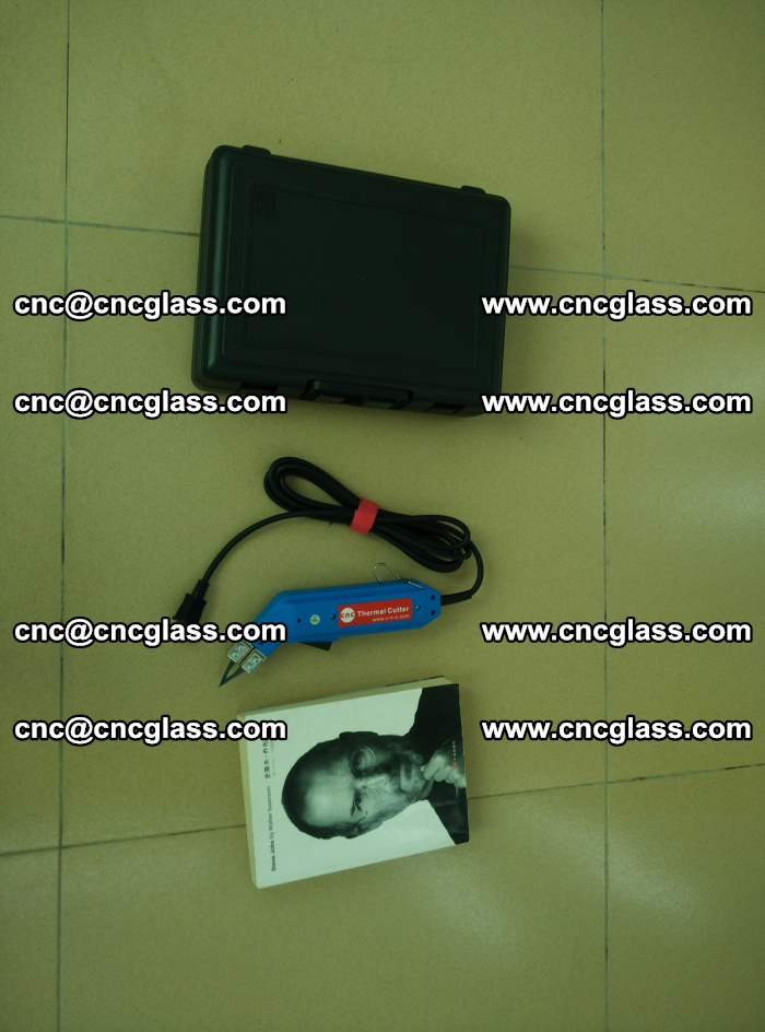 Thermal Knife trimmer for laminated glass edges cleaning (42)