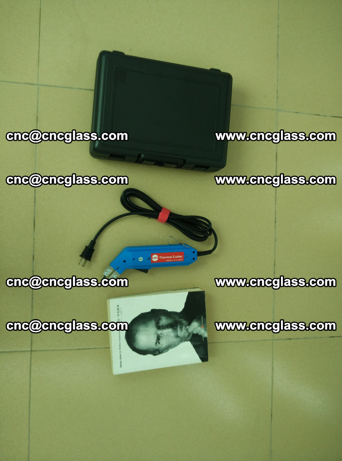 Thermal Knife trimmer for laminated glass edges cleaning (47)