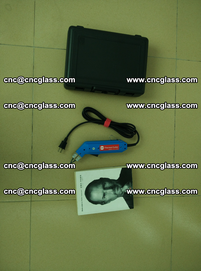 Thermal Knife trimmer for laminated glass edges cleaning (48)