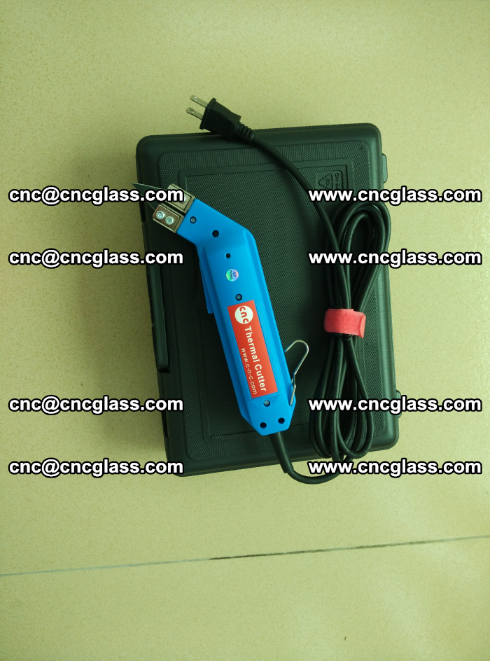 Thermal Knife trimmer for laminated glass edges cleaning (5)