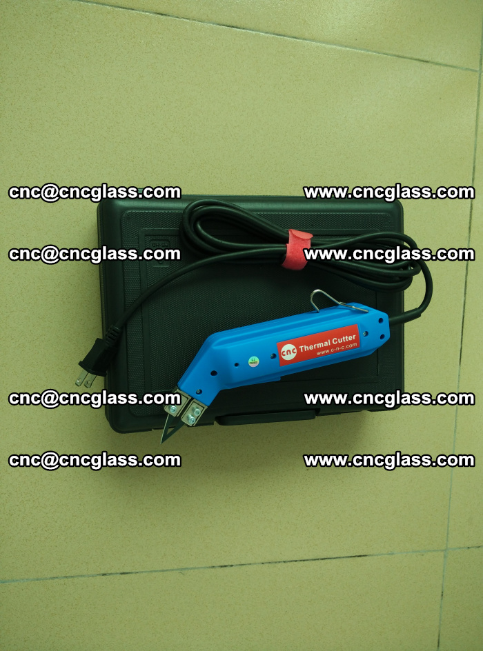 Thermal Knife trimmer for laminated glass edges cleaning (7)