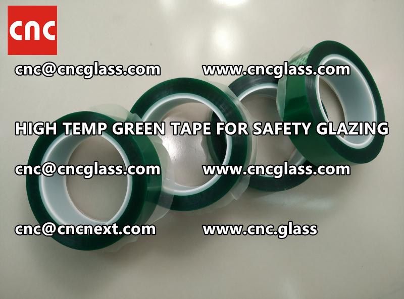 GLASS GREEN TAPE FOR EVA LAMINATION (2)