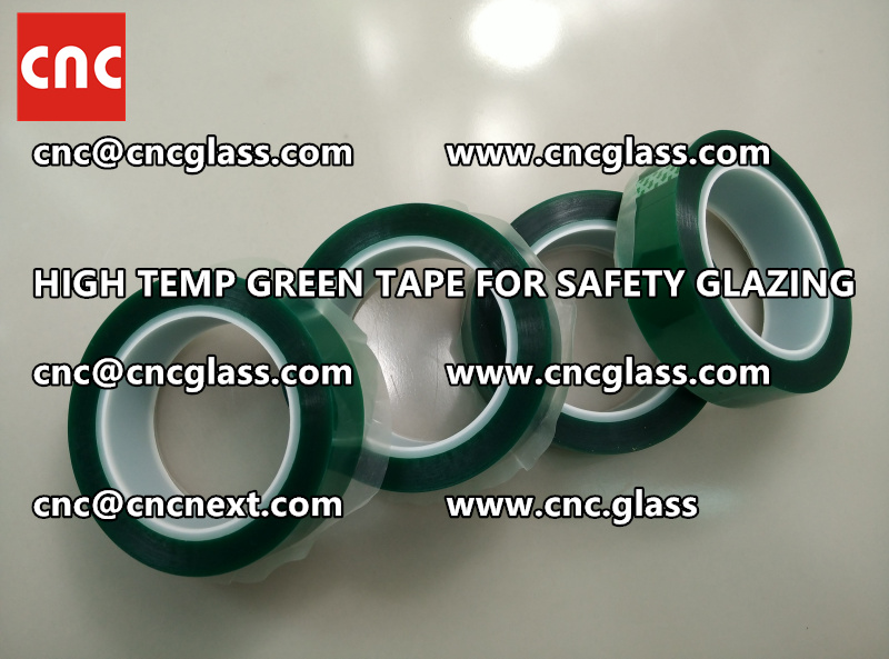 GLASS GREEN TAPE FOR EVA LAMINATION (3)