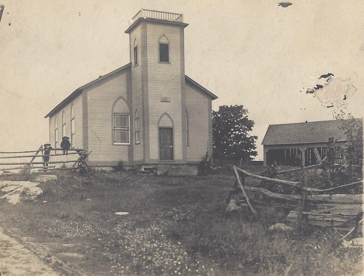 Bellrock United Church, Bellrock, Portland Township, Ontario
