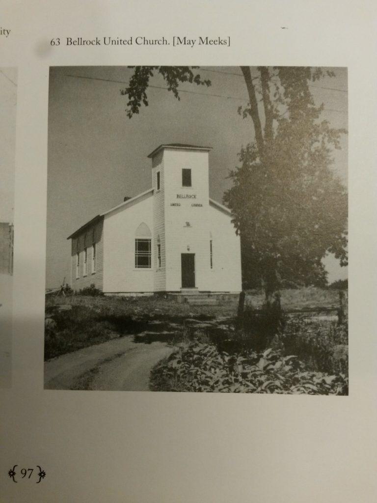 Bellrock United Church, Bellrock, Ontario