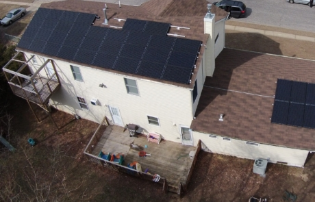 Ariel Footage of Solar Panels installed by New Jersey Contractor