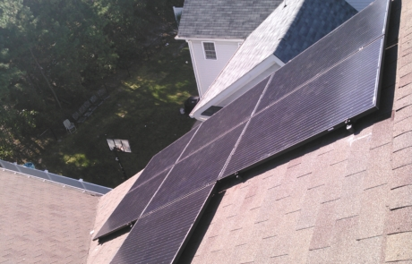Solar Energy installed on Home - Installation