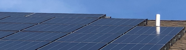 Solar Panels with Critter Squirrel Guard South Jersey