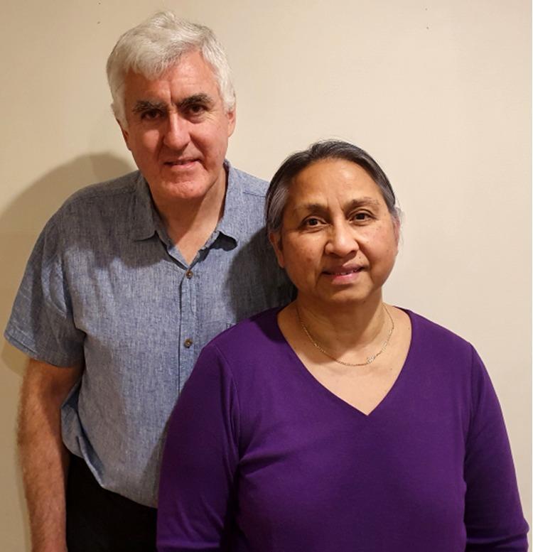 Garry & Siau Smith - Siau, a PIBC student in Australia originally from Tarawa, Kiribati