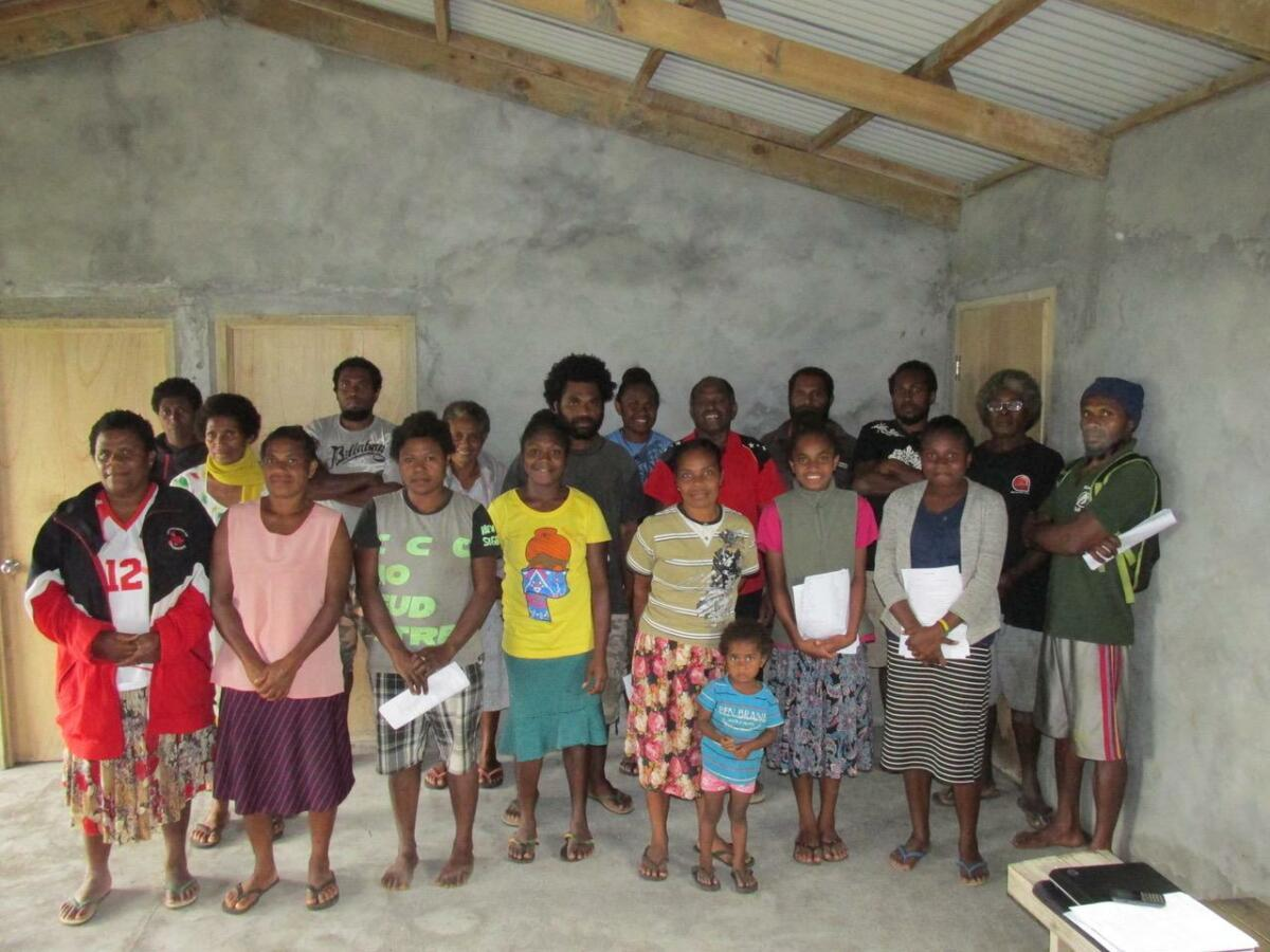 PIBC class @ Duviara, Vanuatu