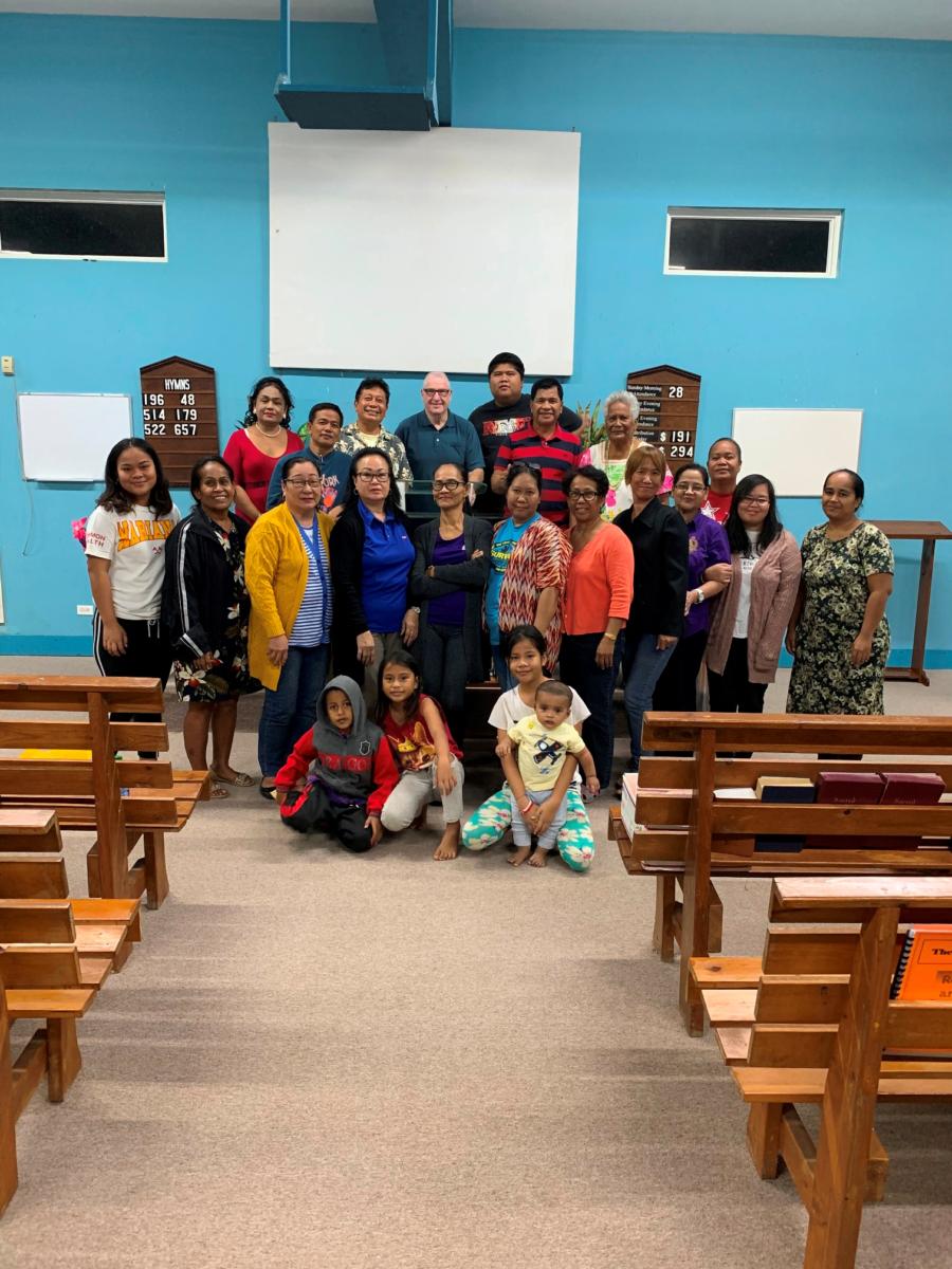 PIBC class at Saipan, CNMI