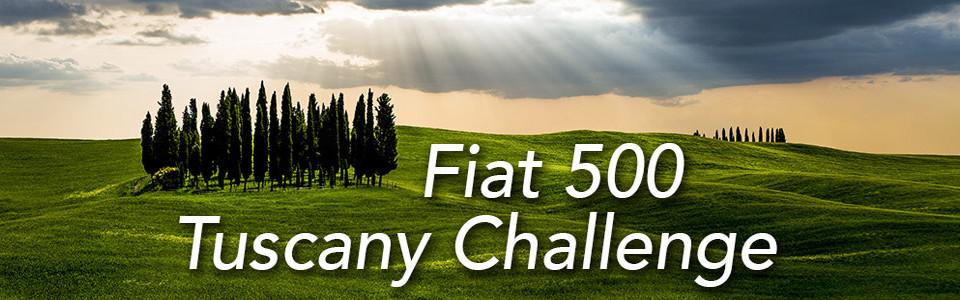 Fiat 500 Tuscany Challenge