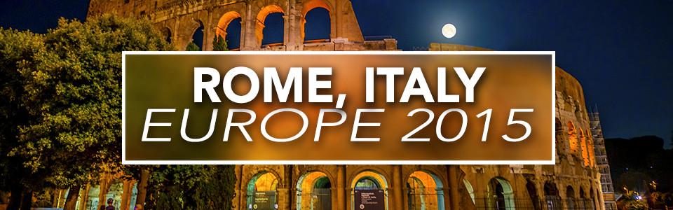 Rome – Europe 2015