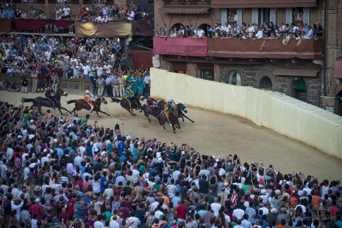 Around The Bend, Palio, Siena, Italy
