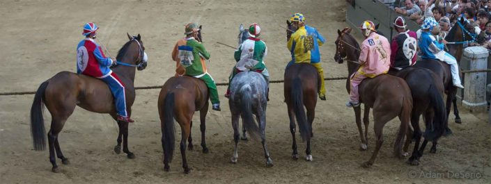 At The Line, Palio, Siena, Italy