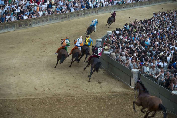 Cross The Line, Palio, Siena, Italy