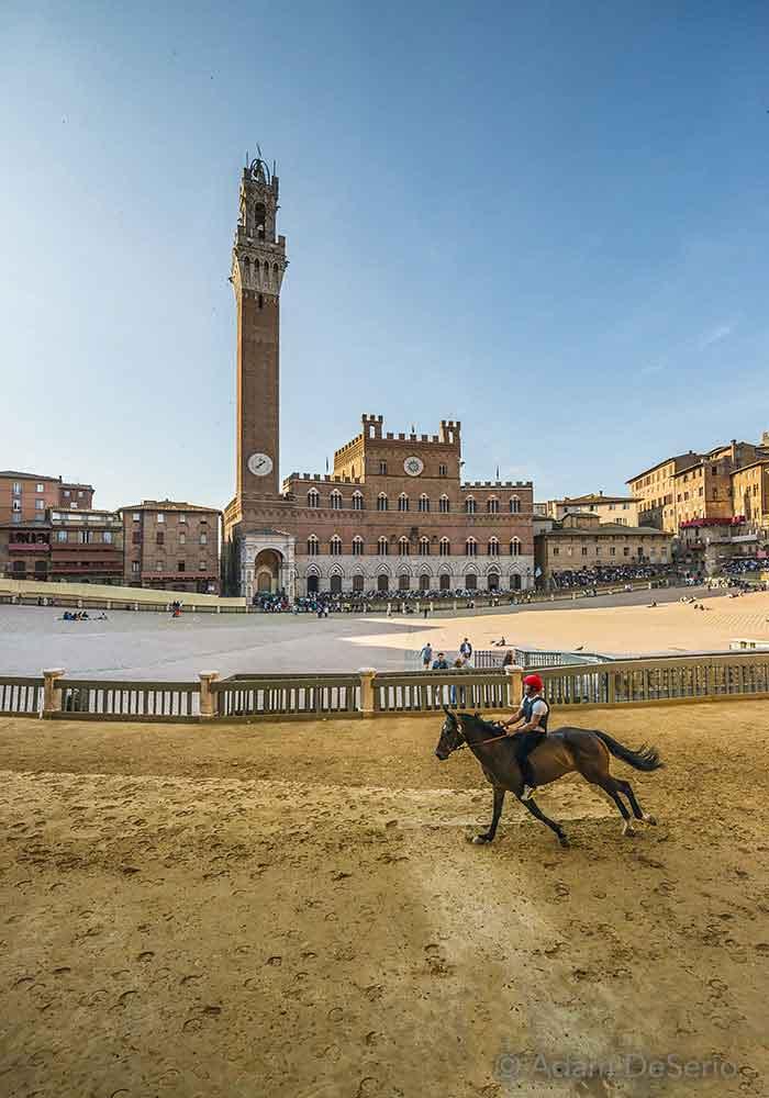 Cross the Tower Line, Palio, Siena, Italy